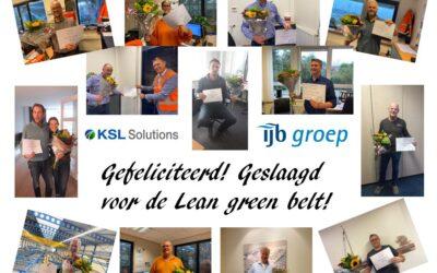 Lean Green Belt IJB-groep